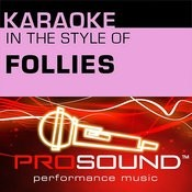 Losing My Mind (Karaoke Lead Vocal Demo)[In The Style Of Follies] Song