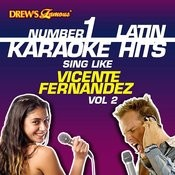 Drew's Famous #1 Latin Karaoke Hits: Sing Like Vicente Fernandez Vol. 2 Songs
