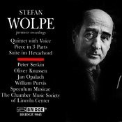 Music Of Stefan Wolpe, Vol. 1: Suite IM Hexachord Songs
