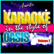 Karaoke - Oasis Vol. 2 Songs