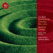 Bach: Brandenburg Concertos Nos. 2 & 5 / Wedding Cantata Songs