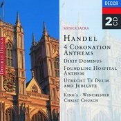 Handel: 4 Coronation Anthems/Dixit Dominus etc. Songs