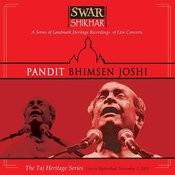 Swar Shikhar - The Taj Heritage Series: Live in Hyderabad November 2 2001 Songs