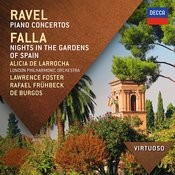 Ravel:  Piano Concertos; Falla: Nights In The Gardens Of Spain Songs