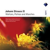 Strauss, Johann II : Waltzes, Polkas & Marches (-  Apex) Songs