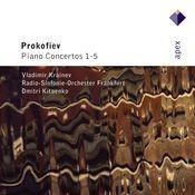 Prokofiev : Piano Concertos Nos 1 - 5 (-  Apex) Songs