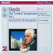 Haydn The London Symphonies Vol 1 Songs