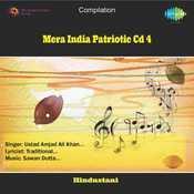 Mera India Patriotic Cd 4 Songs