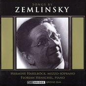 Songs By Zemlinksy Songs