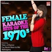 Female Karaoke Hits Of The 70s Vol. 1 Songs