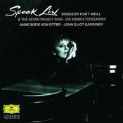 Weill: Speak Low Songs