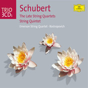 Schubert: The Late Quartets; Quintet (3 CD's) Songs
