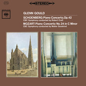 Concerto For Piano And Orchestra No. 24 In C Minor, K.491: Mozart: Piano Concerto No. 24 In C Minor, K. 491 - Schoenberg: Piano Concerto, Op. 42 - Gould Remastered Songs