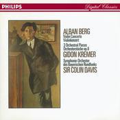 Berg: Violin Concerto; Three Orchestral Pieces Songs
