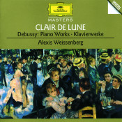 Debussy Clair De Lune Piano Works Songs