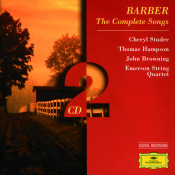 Barber The Complete Songs Songs