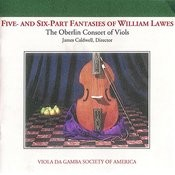 5 and 6 part Fantasies of William Lawes Songs