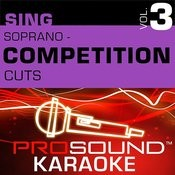 Competition Cuts - Soprano - Pop/Rock (Vol. 3) Songs