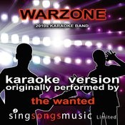 Warzone (Originally Performed By The Wanted) [Karaoke Audio Version] Songs