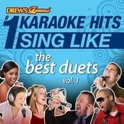 Drew's Famous #1 Karaoke Hits: Sing Like The Best Duets, Vol. 1 Songs