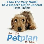 I Am The Very Model Of A Modern Major General Piano Theme (From The