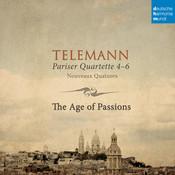 Telemann: Pariser Quartette 4-6 Songs