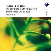 Haydn : The Complete 9 String Quartets Volume 1 Songs