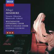Allegri: Miserere, etc. Songs
