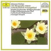 Brahms: Altrhapsodie / Schicksalslied / Triumphlied Songs