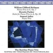 Three American Piano Trios Songs