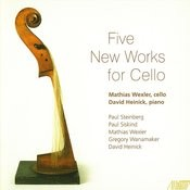 Five New Works For Cello Songs