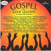 Gospel Sung By The Great Quartets - Vol 1 Songs