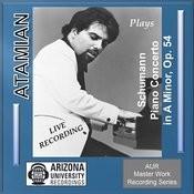 Mvt. 3 Allegro Vivace, Schumann Piano Concerto, Dickran Atamian, Piano Song