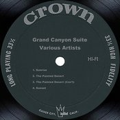 Grofe: Grand Canyon Suite Songs