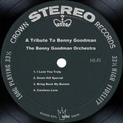 A Tribute To Benny Goodman Songs