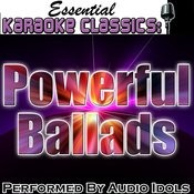 Essential Karaoke Classics: Powerful Ballads Songs