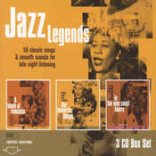 Jazz Legends - Our Favourite Things/A Touch of Romance/The Wee Small House Songs