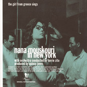 Nana Mouskouri In New York - The Girl From Greece Sings Songs