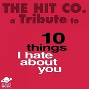 A Tribute To 10 Things I Hate About You Songs