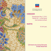 Honegger: Le Roi David; Symphonies Nos.2, 3 & 4; Pacific 231; Martin: In Terra Pax Songs