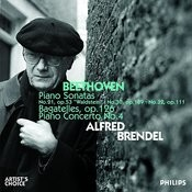 Alfred Brendel plays Beethoven Songs
