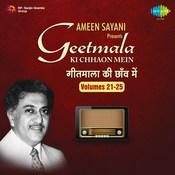 Geetmala Ki Chhaon Mein Volumes 21 - 25 Songs