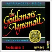 The Gentlemen's Agreement - Masterworks Series Volume 1 Songs