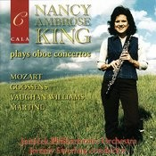 Nancy Ambrose King Plays Oboe Concertos By Mozart, Goossens, Vaughan Williams And Martinů Songs