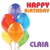 Happy Birthday Clair Song
