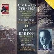 Strauss: Violin Concerto In D Minor - Bartok: Violin Concerto No. 2 Songs