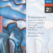 Schoenberg: 5 Pieces for Orchestra/Chamber Symphony etc. Songs