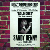 Gold Dust Live At The Royalty The Final Concert Songs