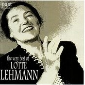 The Very Best Of Lotte Lehmann Songs