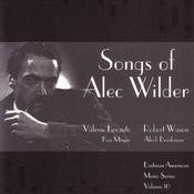 Songs Of Alec Wilder Songs
